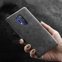 LANGSIDI Brand new Genuine Cow Suede Leather Phone case for