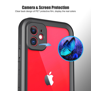 Image 4 - SHELBOX Waterproof Case For iPhone 12 11 Pro Max X XR Shockproof Swimming Coque Cover for iPhone SE 7 8 Plus Underwater Case