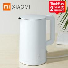 XIAOMI MIJIA-hervidor de agua eléctrico inteligente 1S para cocina, tetera MIhome, temperatura constante, samovar, 2020