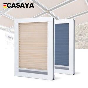 Image 1 - Сотовые жалюзи для крыши, жалюзи для дневного света/светонепроницаемые сотовые жалюзи для крыши, 16 цветов, Индивидуальный размер