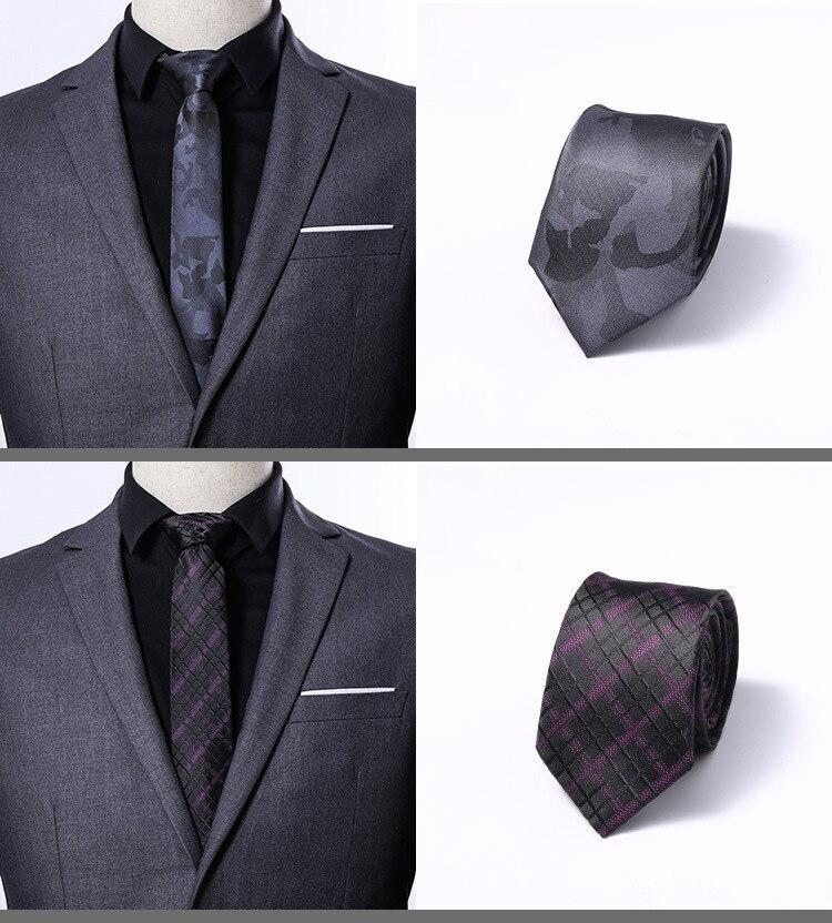 Wedding 100% Silk Tie Skinny 6 Cm Floral Necktie High Fashion Floral Ties Men Cravat Neckties Mens Gravatas Mens Classic Tie