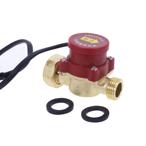 Image 5 - 1pc Practical Male Thread Connector Circulation Pump Automatic Water Flow Sensor Switch 220V 120W