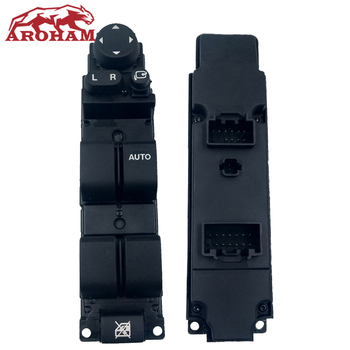 New Brand Right Hand Drive RHD Master Window Mirror Switch With Auto Folding Function Fit Mazda 2 Mazda 6 2008-2012 D652-66-350A