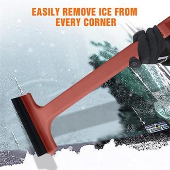 Skrobaczka regulowana teleskopowa łopata do śniegu wycieraczka łopata do śniegu usuwanie śniegu narzędzie okno urządzenia do oczyszczania naprawa samochodów części tanie i dobre opinie CN (pochodzenie)
