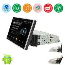 """1din """" Android 9,1 автомобильный Радио мультимедийный плеер универсальный автомобильный аудио стерео gps навигация Wifi Bluetooth MP5 плеер головное устройство"""