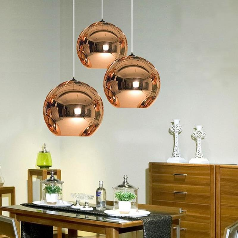 Class Pendant Light Pendant Lamp Pendant Light HangLamp Parlor Retro Dinning Room Chandelier Bedroom Minimalist Glass Ball E27