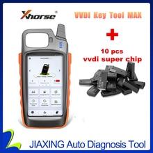 Xhorse VVDI Key Tool Max Remote and Chip Generator plus 10 pcs VVDI Super Chips