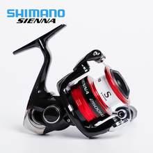 SHIMANO SIENNA Spinning Reels FG 2000 2500 2500HG C3000 4000 Original 5.0:1/5.2:1 1 + 1 BB Salzwasser Spinning Angeln Reel