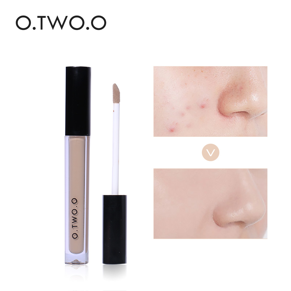 O.TWO.O 4 Colors Face Contour Makeup Liquid Concealer Base Makeup Face Foundation Brand Liquid Concealer Makeup Cosmetics