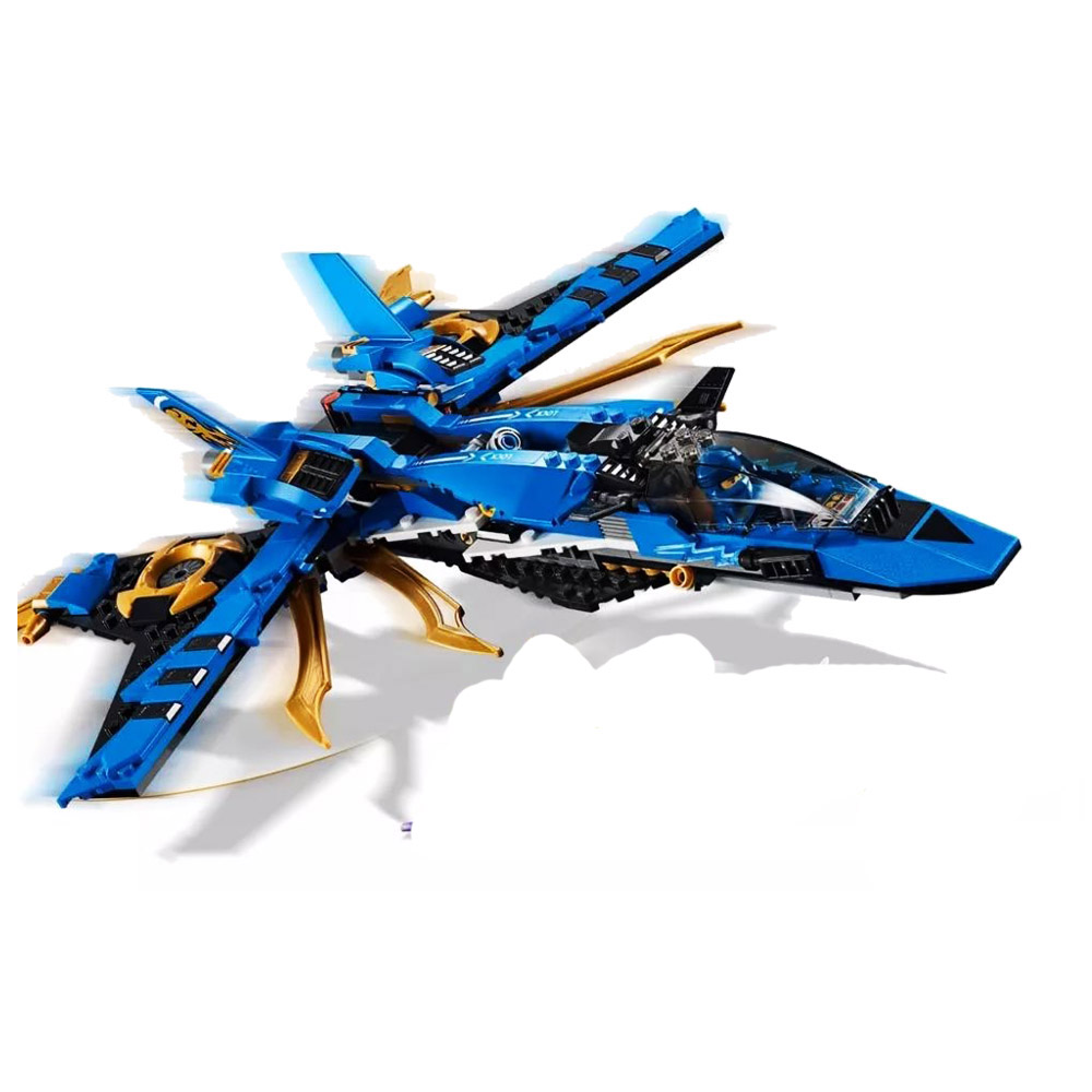 2019 New 549Pcs Ninja Jay's Storm Fighter Compatible Legoinglys <font><b>Ninjagoed</b></font> <font><b>70668</b></font> Building Blcoks Toys Figures for Children Gift image