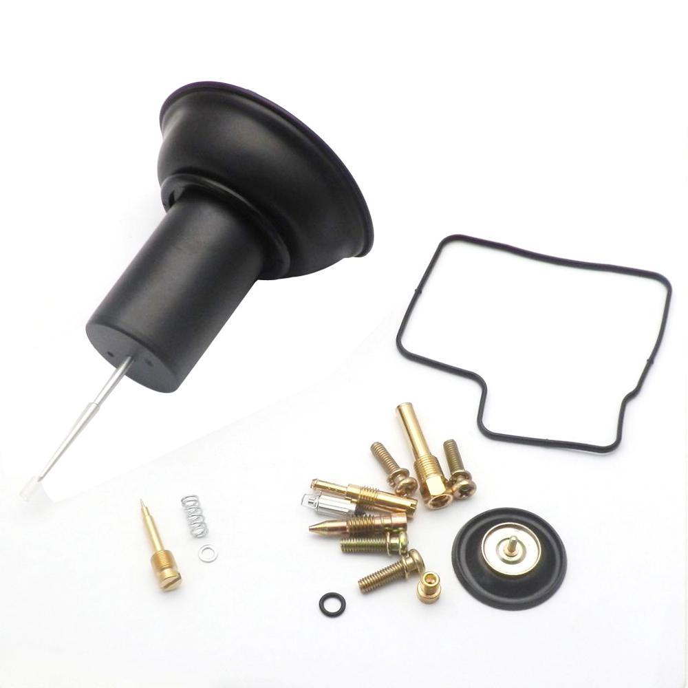 Configuration de l'aiguille de carburateur de piston de diaphragme de vide de 29.9mm pour Honda Steed 400 Shadow VLX 400 Kit de réparation de carburateur de moto