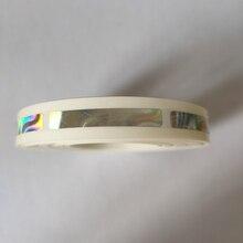 1000 adet/rulo 6x40mm güzel Hologram lazer scratch off sticker oyun kartı veya düğün oyun