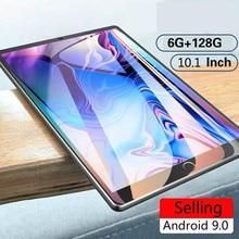 Android Ten-Core Tablet Wifi Bluetooth Dual-Kamera 128G 6G 4G Belakang Hot-Sale IPS