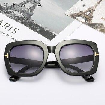 Square Women Sunglasses Vintage  2