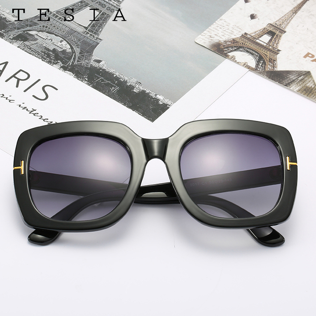 Square Women Sunglasses Vintage  2