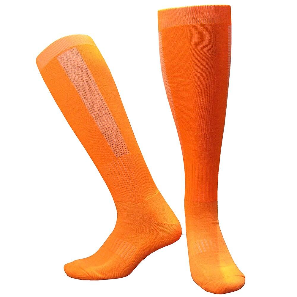 CTM005橙色毛巾底足球袜 副本