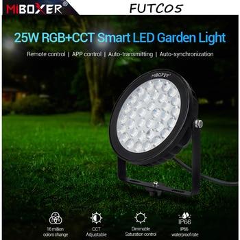 Miboxer FUTC05 25W RGB+CCT Smart LED Garden Lamp Lawn landscape Light AC100~240V IP66 Waterproof APP/remote/Alexa Voice control