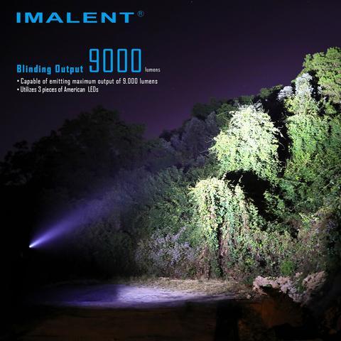 Imalent r30c power led lanterna 9000 lumens