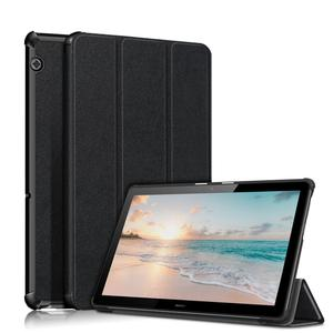 Ultra-thin magnetic stand case For Funda Tablet Huawei MediaPad T5 10 Protective Shell For huawei T5 case(China)