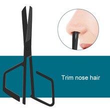 Nose-Hair-Scissor Facial-Hair Professional Women for