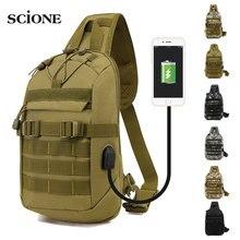 Backpack Knapsack Crossbody-Bags Sling Shoulder Waterproof Large-Capacity Casual Male