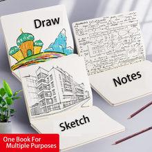 Caderno estudante bloco de notas engrossar arte classe caderno papelaria em branco bloco de notas fresco e simples estudante e diários cuadernos