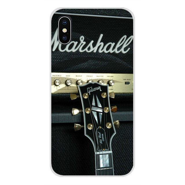 Marshall Electric Guitar Amp Amplifier For Huawei Nova 2 3 2i 3i Y6 Y7 Y9 Prime Pro GR3 GR5 2017 2018 2019 Y5II Y6II Phone Cover