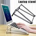 Подставка для ноутбука кронштейн Портативный держатель охлаждающая стойка алюминиевый сплав для домашнего офиса FKU66