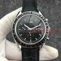 Reloj de pulsera con movimiento automático de acero inoxidable para hombre, mecánico AAA, marca de lujo, negro, deportivo, Para Hombre