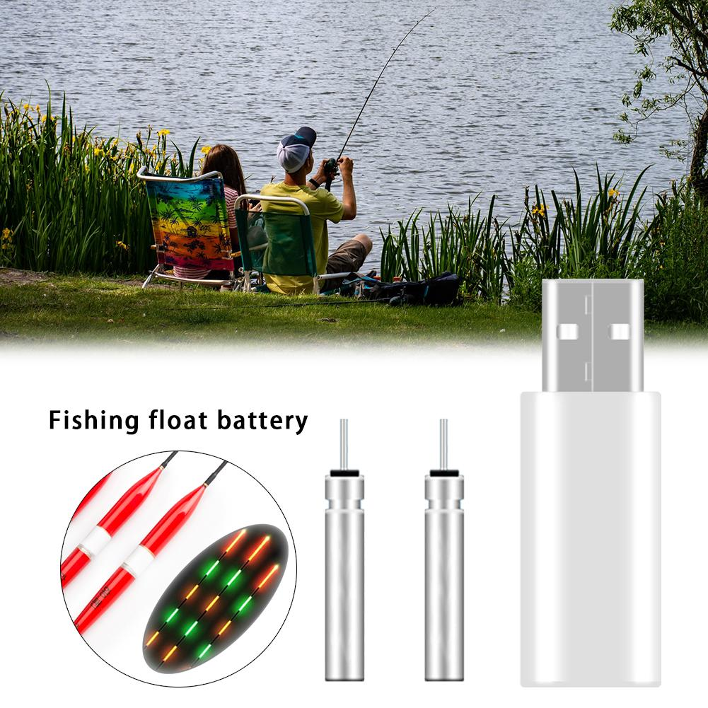 Luminous Electronic Float Charger Fishing Float Rechargeable Battery CR425 USB Charger For Night Fishing Accessories Tackles