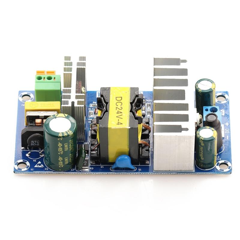 Блок питания 24 В, преобразователь переменного тока постоянного тока 24 В, макс. 6,0 а 100 Вт 50 Гц/60 Гц, регулируемый трансформатор, импульсный ист...