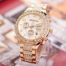 New Women Watches Stainless Steel Exquisite ladies Watch femme Rhinestone Luxury Casual Quartz Clock Relojes Mujer girl's watch цена в Москве и Питере