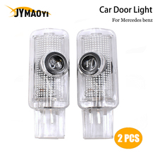 2 pcs LED Car Door Light Projector ambient welcome light For Mercedes Benz R350 R300 R320 R400 R500 CLS500 ML500 350 W215 W164