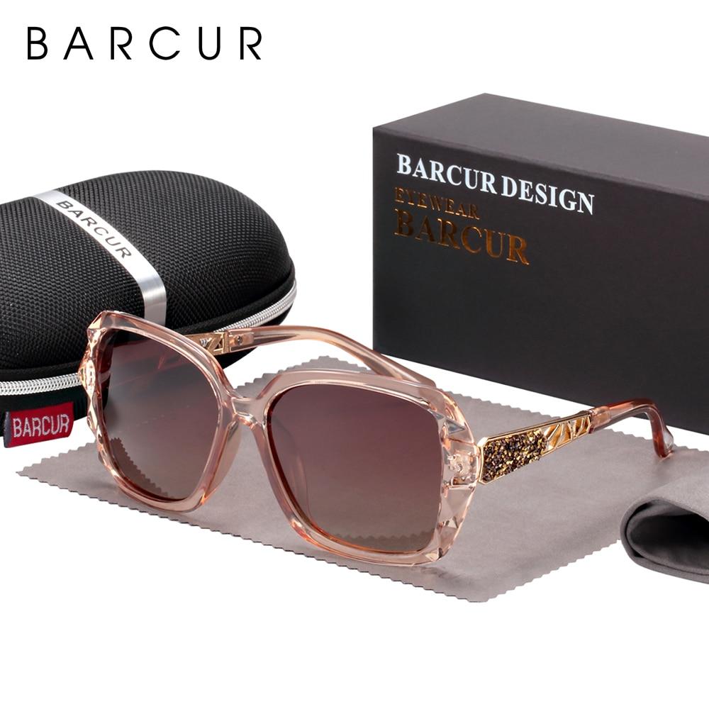 BARCUR Original Sunglasses Women Polarized Elegant Design For Ladies Sun Glasses Female 8