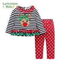 Детский Рождественский комплект одежды lyrichom для маленьких