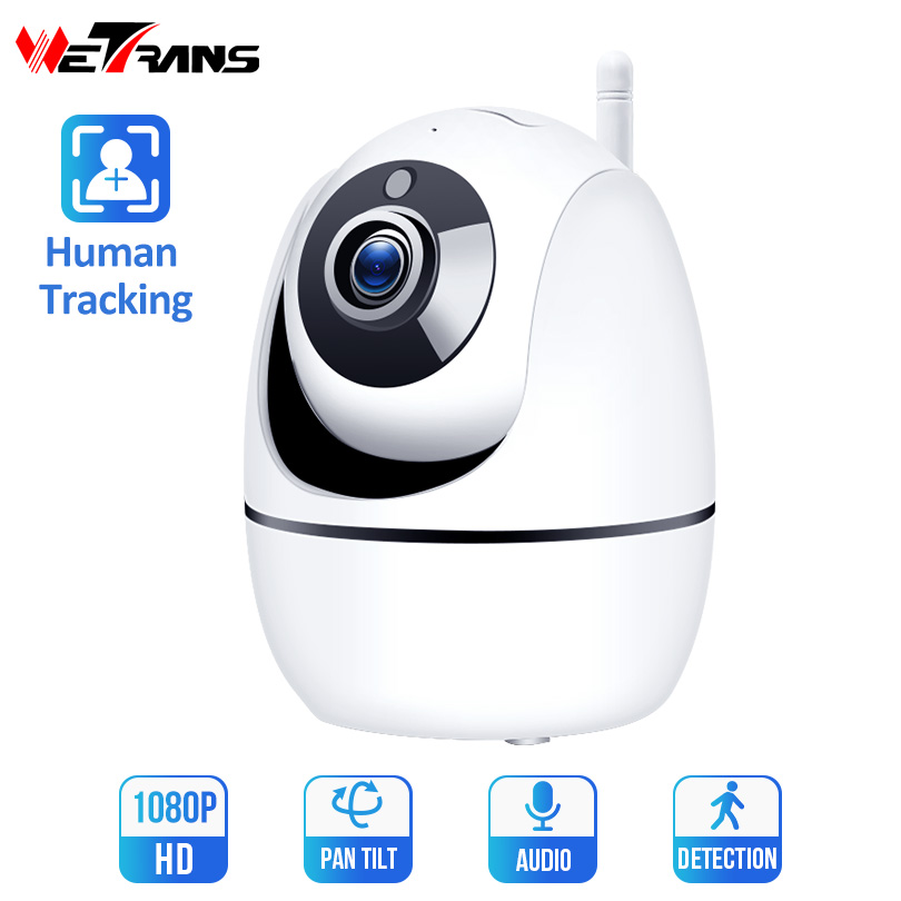 Wetrans 1080P IP Wifi Camera Mini HD Auto Tracking Onvif Night Vision Baby Monitor Smart CCTV Home Security Wireless Camera