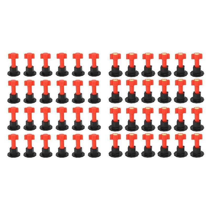 75pcs/set Level Wedges Tile Spacers For Flooring Wall Tile Spacer Carrelage Tile Leveling System Leveler Locator Spacers Plier