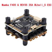 Mamba F405 Flight Controller & REV35 35A BLheli_S 2 6S 4 In 1 ESC Gebaut in Strom sensor Bürstenlosen ESC Dshot600 Für RC Modell