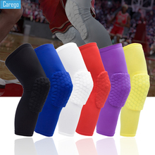 knee protector support compression knee pads for joints arthritis brace sport leg warmers volleyball football elastic bandage Carego Honeycomb Knee Pads Basketball Brace Elastic Kneepad Volleyball Protective Gear Support Football Compression Leg Sleeves