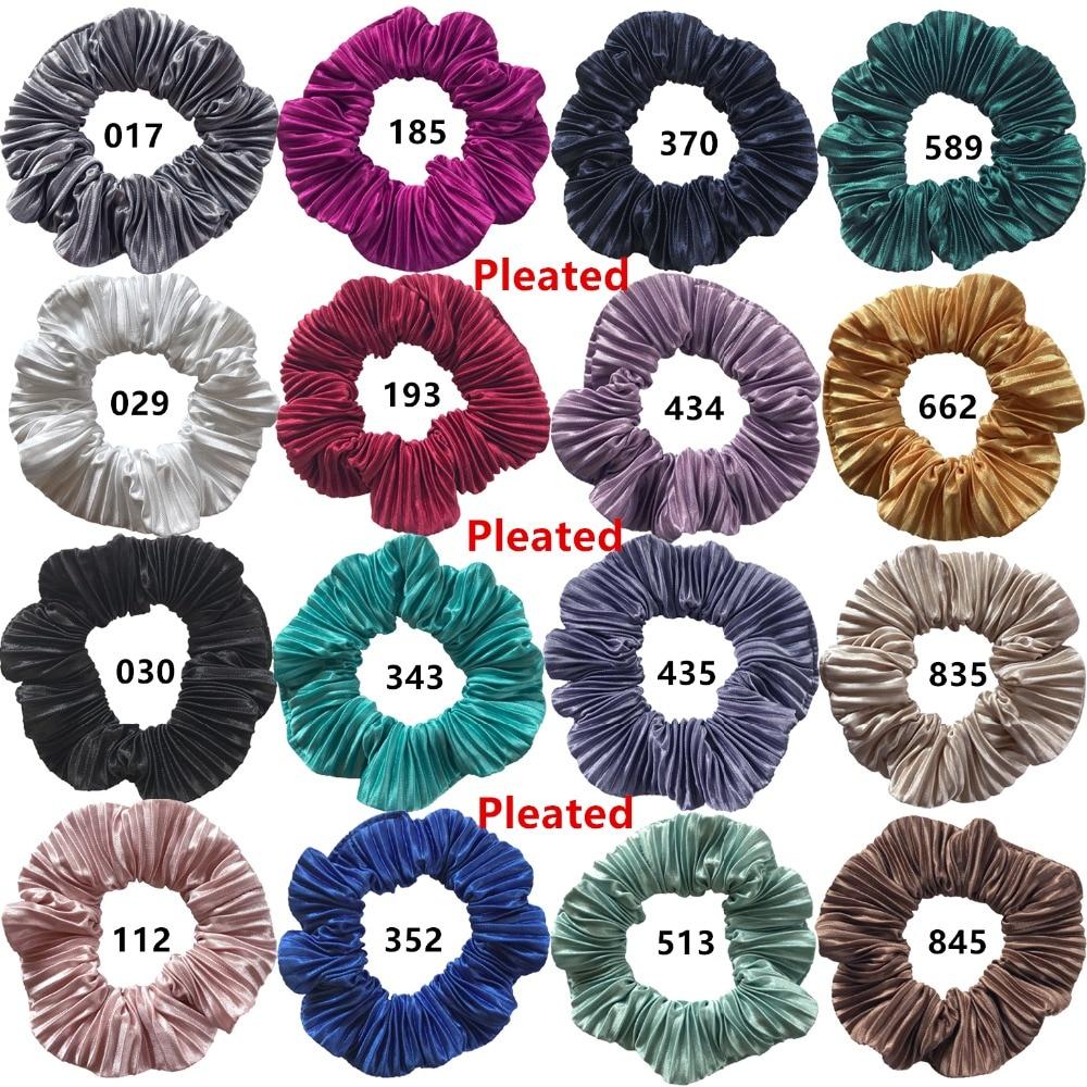 压皱布束发圈 Pleated 16 colors