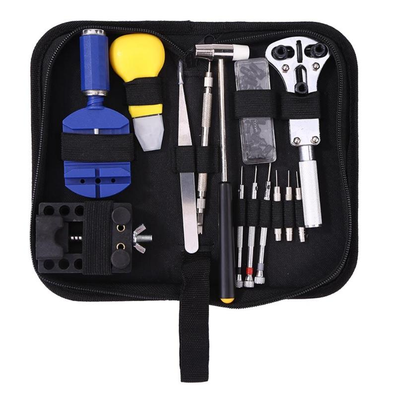 31pcs/set Watch Opener Remover Tweezers Repair Screwdriver Watch Disassembly Maintenance And Battery Replacement Watchmaker Tool