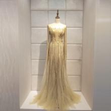 Zarif 2020new akşam elbise vestido de noiva abendkleider robe de soiree lüks uzun elbise