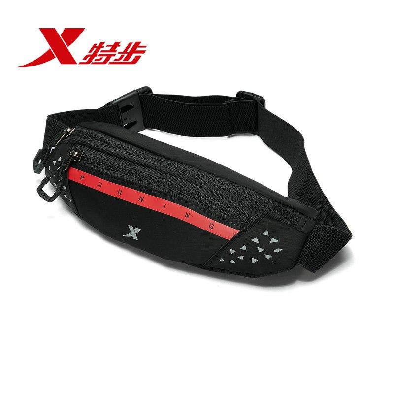 Xtep Unisex Running Waist Bag Lightweight Comfortable Buckle Carrying Bags Fanny Pack Men Women Pocket 881337149002