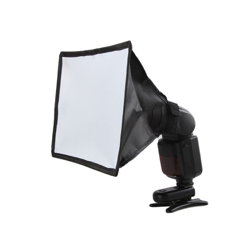 PVC Camera Softbox Flash Diffuser Softbox Reflector Camera Photo Soft Light Box For Canon For Nikon For Sony