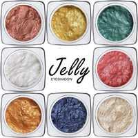 Jelly Gel Highlighter Makeup Concealer Shimmer Face Glow Eyeshadow Cream 12 Colors Long Lasting Waterproof Makeup