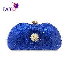 Nigeria vestito da sera del fiore desgin Bella Borsa delle donne con diamanti di Buona qualità del Sacchetto della signora