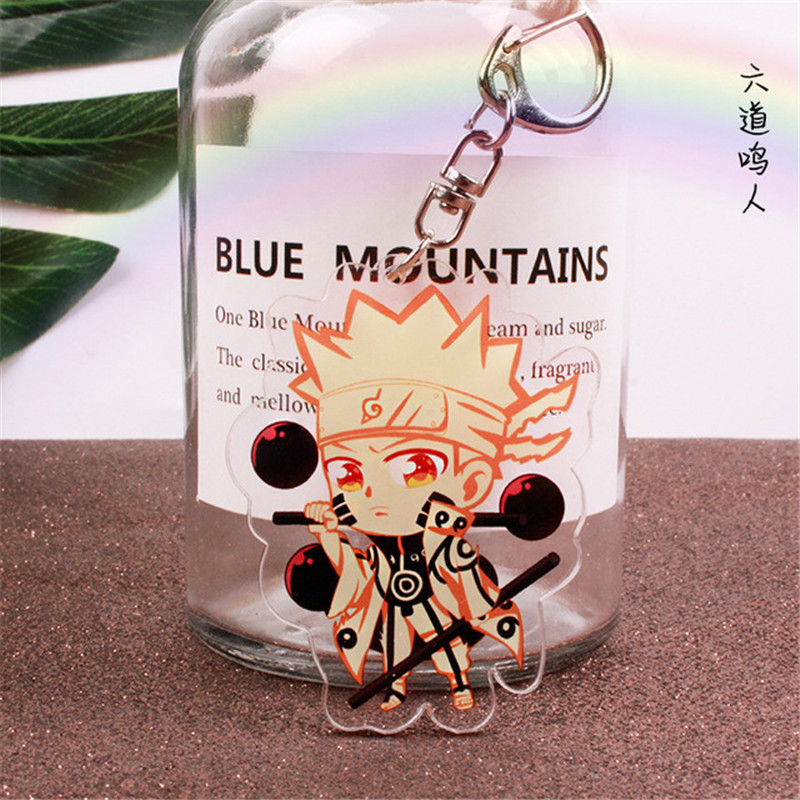 Naruto Anime Alloy Pendant Keychain Keyring Key Charm Key Ring Hot Sale own