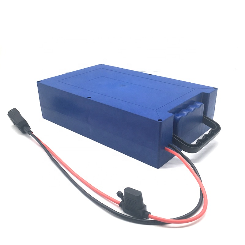 Customized <font><b>12V</b></font> 24V 36V 48V 52V <font><b>60Ah</b></font> <font><b>Lithium</b></font> Ion Ebike <font><b>Battery</b></font> Pack with Double vibration protection and Fuse image