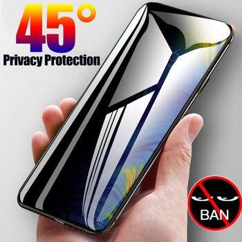Anti Spy Tempered Glass For Xiaomi Redmi Note 9 Screen Protector Full Privacy Xiomi Redmi Note 9s 8 9 Pro Max 8T 8A K30 7 Film nillkin amazing h h pro tempered glass screen protector for xiaomi redmi note 9s k30 k20 note 8 8t 8pro redmi 8 8a glass