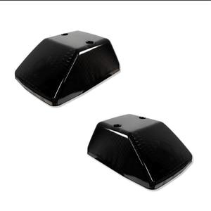 Image 2 - IJDM Glossสีดำด้านหน้าโคมไฟสำหรับ1986 18 Mercedes W463 G Class G500 G550 G55 g63 G65,OE Specเปลี่ยน